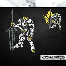 Gundam Barbatos Lupus Rex Vinyl Decal Sticker Anime Car Laptop Pc Tower Decor Ebay