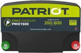 Patriot Pmx1500 Fence Charger Energizer Electric Fence