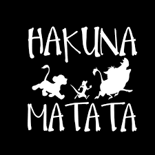 Car Sticker 3d 13 8cm 13 3cm Hakuna Matata Lion King Simba Sticker On Car Funny Stickers And Decals Vinyl Car Styling Car Stickers Aliexpress