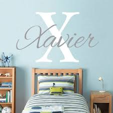 Boy Name Wall Stickers For Kids Rooms Personalized Vinyl Childrens Wall Decals Baby Boy Nursery Wall Decals Home Decor Hy67 Wall Stickers Aliexpress