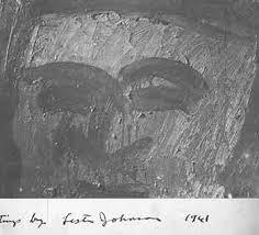Paintings by Lester Johnson. Opening Monday, January 23, 5 - 7 pm. January  23 - February 11, 1961 Exhibition brochure | Lester Johnson, Zabriskie  Gallery, Paris