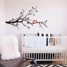 Tree Branch Wall Sticker Family Of Love Birds Baby Bedroom Vinyl Removable Decor For Sale Online Ebay