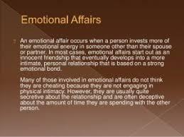 avoid having an emotional affair