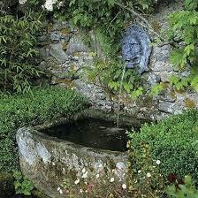 old crusty basin fountain
