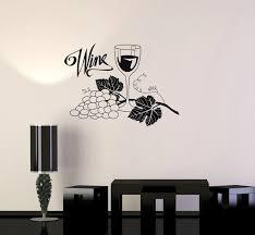 Wine Grapes Glass Alcohol Wall Stickers Waterproof Vinyl Wall Decal Drink Bar Kitchen Wall Sticker Home Design Wallpaper Sa177 Vinyl Wall Decals Wall Decalsvinyl Wall Aliexpress