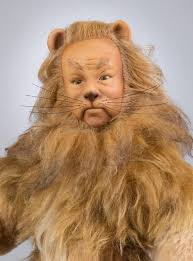 how to do cowardly lion makeup