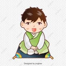 Phim Hoạt Hình đáng Yêu Chàng Trai Hàn Quốc, Hoạt Hình., Vector ...