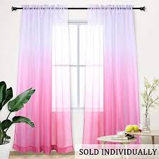 Other Kids Curtains Kids Hot Pink Ruffle Curtain Panels