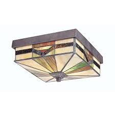 w bronze outdoor flush mount light