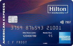 hilton honors aspire card from american