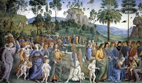 Vita di Mosè - Affreschi Cappella Sistina | Michelangelo e la Cappella  Sistina