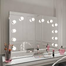 scarlett large hollywood mirror with