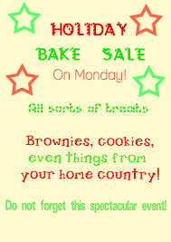 Adriana R copy.'s Bake Sale Poster | Adriana Rogers | Flickr