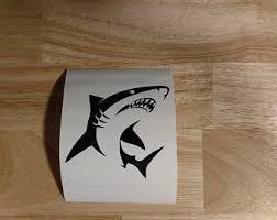 Shark Truck Decals Etsy