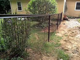 Yardgard Select Metal Fencing 100ft Long Steel Fence And Gate Kit 4ft High Black Amazon In Garden Outdoors