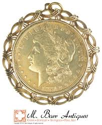 very cool us coin pendant 1921
