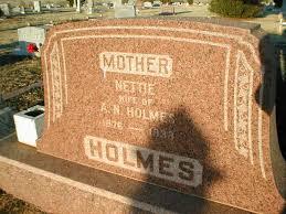 Nettie Patterson Holmes (1876-1933) - Find A Grave Memorial