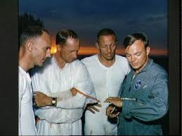 Ken Mattingly, Al Worden, and Jack Swigert - desert survival training |  Apollo space program, Space shuttle missions, Nasa