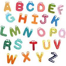 Mignon 26 Pcs Dessins Animés Alphabets Lettres Réfrigérateur Aimants  Enfants Enfants Éducation Magnétique Stickers Muraux Sur Le Réf - Achat /  Vente aimants - magnets - Cdiscount