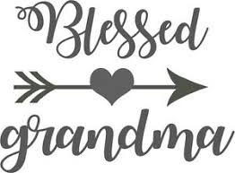 Custom Vinyl Car Decal Sticker Blessed Grandma Nana Mimi Granny Gramma Arrow Ebay