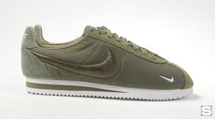 nike cortez brown leather