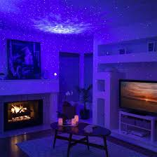 China Star Sky Night Light W Led Nebula Cloud Projector Light For Baby Kids Bedroom Game Rooms Home Theatre Room Decor Night Light China Night Light Light Projector For Bedroom
