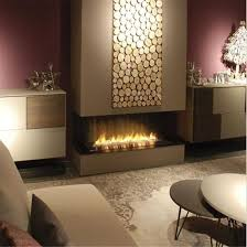 indoor automatic ethanol fireplace