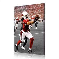 Amazon.com: NFL Arizona Cardinals Larry Fitzgerald Super Bowl Canvas Prints  ...
