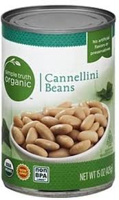 simple truth organic cannellini beans