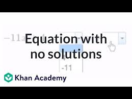 creating an equation with no solutions
