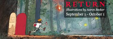 RETURN: Illustrations by Aaron Becker - Hope & Feathers Framing and Printing