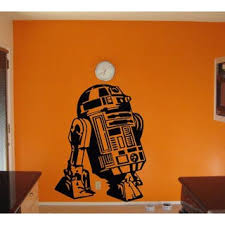 Shop Full Color R2 D2 Huge Wall Sticker Star Wars Wall Decal Wall Art R2 D2 Wall Decor Sticker Decal Size 33x45 Overstock 14355763