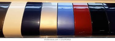 car paint samples images stock photos
