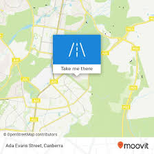 How to get to Ada Evans Street in Canberra by Bus or Light rail | Moovit