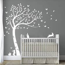 Baby Boy Room Wall Stickers Nursery Decor For Decal Art Tree Uk Removable Vamosrayos