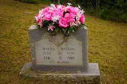 Myrtle Jordan Watson (1898-1993) - Find A Grave Memorial