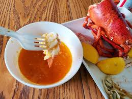 Boiled Lobster with Spicy Garlic Butter ...