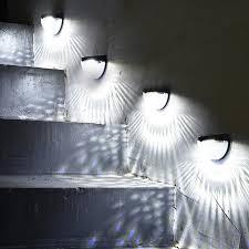 Solar Led Lamp Panel Fence Wall Light Mini Post Lights Garden Mount Decorative Deck Lighting Solar Lamps Aliexpress