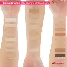 makeup revolution ultra cover and