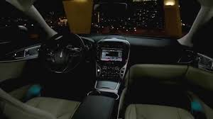 2016 lincoln mkx interior overview