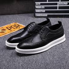 black white vintage leather lace up