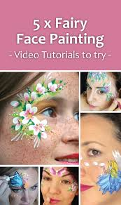 5 fairy face paint designs to try