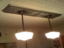 replace fluorescent light fixture in