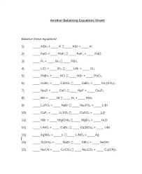 equations worksheet answer key
