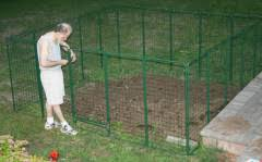 Garden Fence Deer Protection System Easy Assembly Sturdy Construction