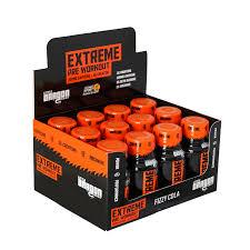 extreme pre workout cola 12 x 60ml