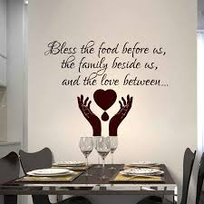 Quote Wall Decals Prayer Bless Wall Sticker Removable Vinyl Prayer Quote Wallpaper Home Kitchen Decor Family Bless Decal Ay929 Wall Stickers Aliexpress