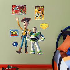 Fathead Disney Woody And Buzz Lightyear Wall Decal Wayfair