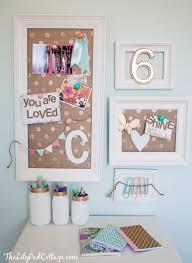 Vintage Kids Desk Turned Pink Crafting Goodness The Lilypad Cottage Kids Desk Girls Bedroom Room Decor