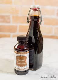 hazelnut coffee syrup recipe by the